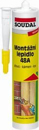 Soudal Montážní lepidlo 48A 310 ml