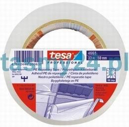 Tesa PE lepící páska 04668 transp. 50mmx33m