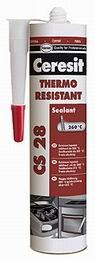 Ceresit CS 28 tepelnì odolný silikon RED - 300 ml