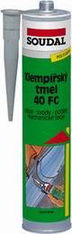 Soudal 40 FC  -  300 ml klempíøský tmel šedý