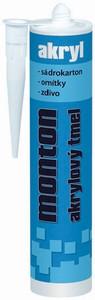 Akryl - akrylový tmel Monton bílý 480g