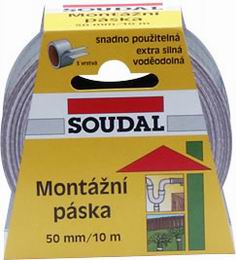 Soudal Montážní páska 50 mm/10 m