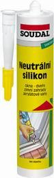 Soudal Neutrální silikon sanitární bílý 310 ml