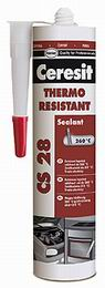 Ceresit CS 28 tepelnì odolný silikon RED - 300 ml - zvìtšit obrázek