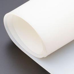 Pryž silikonová tl. 0,5 mm, transparentní, role šíøe 1.200 mm
