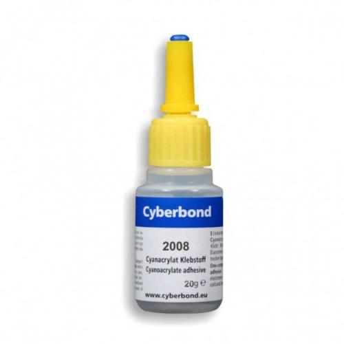 Vteøinové lepidlo Cyberbond 2008 20 g na pryž, gumu, plasty